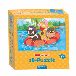 TRÖTSCH 3D-Puzzle Pitti Boot 48 Teile