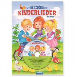 TRÖTSCH Geschichtenbuch mit CD Meine schönsten Kinderlieder 32 Seiten