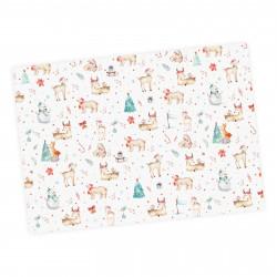 5 Bögen Geschenkpapier Weihnachten - 1,60€/qm- 84,1 x 59,4 cm