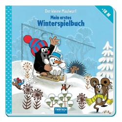 TRÖTSCH Maulwurf Winterspielbuch 10 Seiten