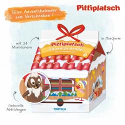 TRÖTSCH Pitti Adventskalender Haus mit 24 Minibüchern