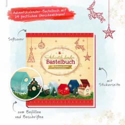 TRÖTSCH Adventskalender-Bastelbuch 44 Seiten
