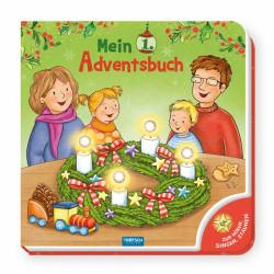 TRÖTSCH Mein erstes Adventsbuch Soundbuch 8 Seiten mit Licht und 4 Melodien