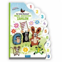 TRÖTSCH Der kleine Maulwurf Registerbuch 1. Zahlen 18 Seiten
