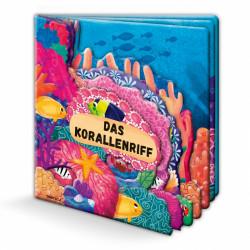 TRÖTSCH Fensterbuch Das Korallenriff 12 Seiten