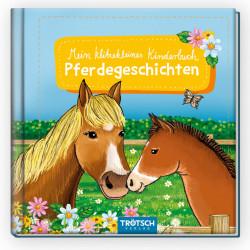 TRÖTSCH klitzekleines Kinderbuch Pferdegeschichte 32 Seiten