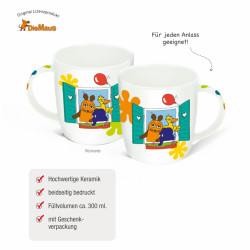 TRÖTSCH Die Maus und Freunde Tasse im Haus 350 ml