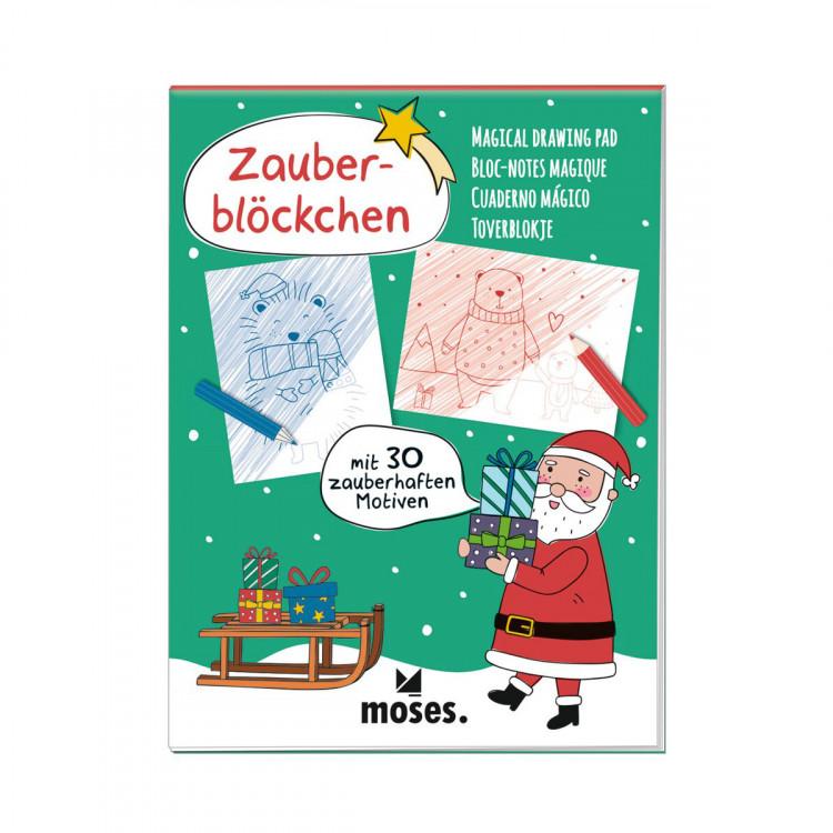 MOSES Zauberblock mit 30 zauberhaften Motiven Weihnachten