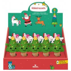 MOSES Häkelrassel Weihnachtsfreunde aus Baumwolle