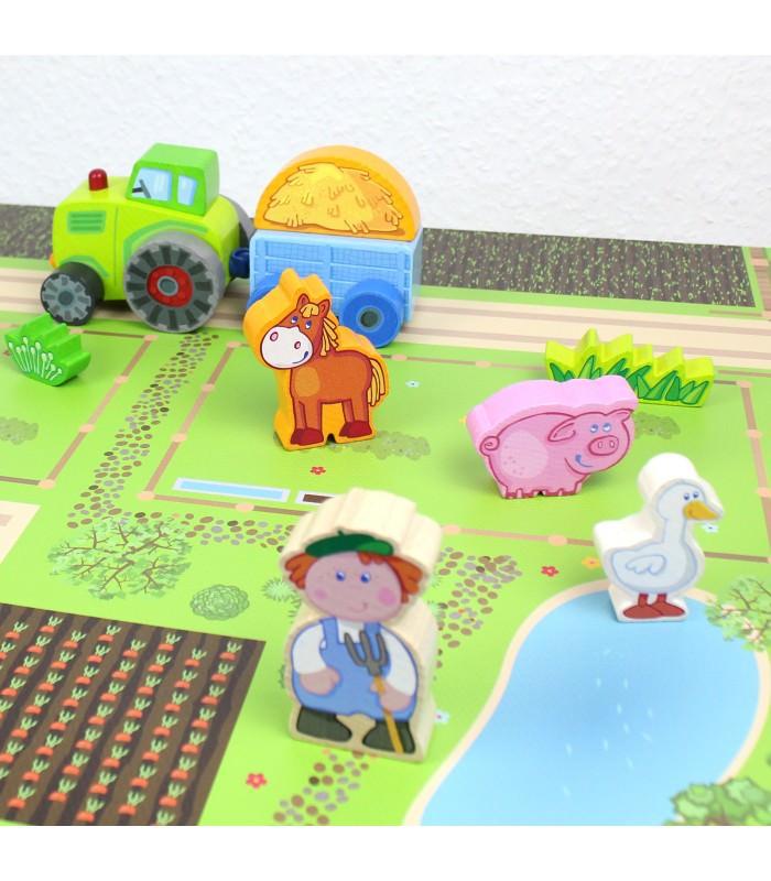 nikima - Spielfolie/ Möbelfolie für IKEA TROFAST Bauernhof