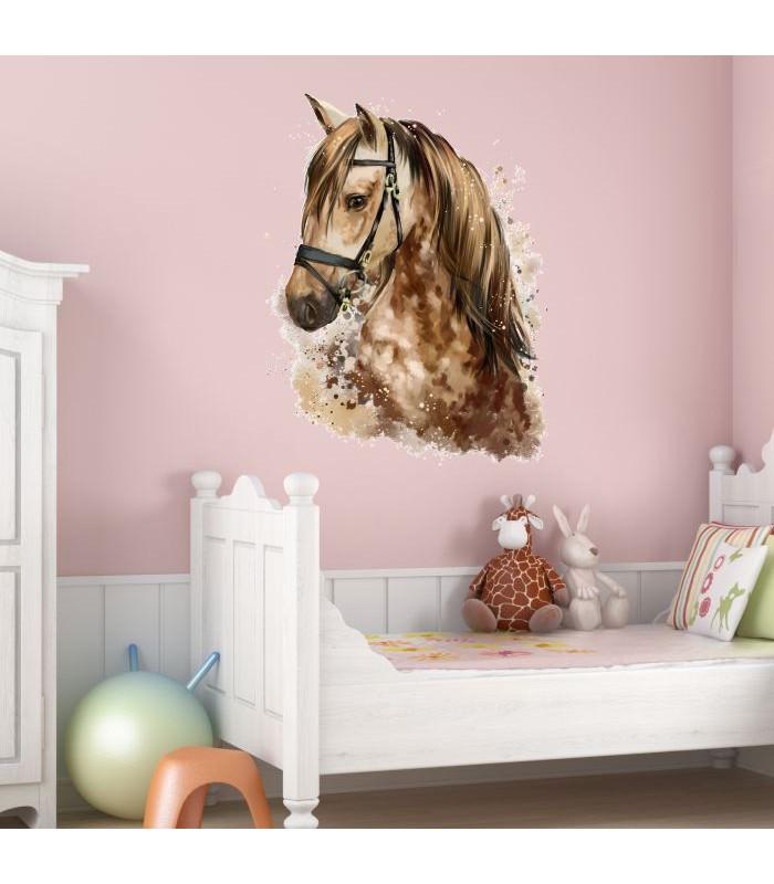 Nikima 077 wandtattoo giraffe ballon kinderzimmer - Wandtattoo pferd kinderzimmer ...