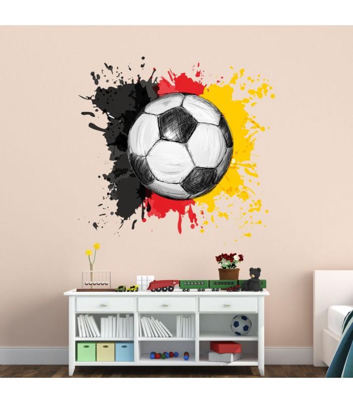 110 Wandtattoo Fussball Deutschland Fahne Flagge