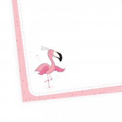 A6 Notizblock Flamingo rosa - 50 Blatt to do Liste Einkaufszettel Planer