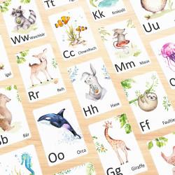 Buchstabenkarte - U wie Uhu