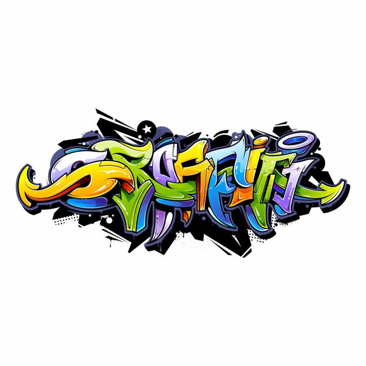158 Wandtattoo Graffiti