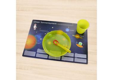 stabiles Vinyl Tischset - Sonnensystem