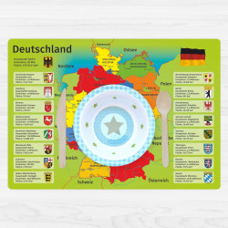 stabiles Vinyl Tischset - Deutschland