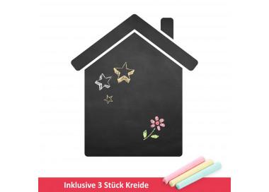 001 Haus - selbstklebende Tafelfolie/ Kreidefolie