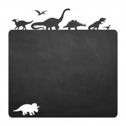 020 Dinosaurier - selbstklebende Tafelfolie/ Kreidefolie inkl. 3 Stück Kreide