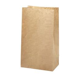 10 - 100 Papiertüten braun Kraftpapier  H 27 cm - 9 x 15 cm | Geschenktüte Adventskalender DIY Mitgebseltüten Gastgeschenk