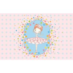 Schmuckkästchen mit Spieluhr - Ballerina - Spieldose rosa flieder Schmuck Aufbewahrung Mädchen