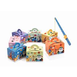 DJECO 8 Geschenkboxen Geburtstagstüten Mitgebsel