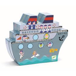 DJECO Schiffe versenken Magnetspiel Reisespiel
