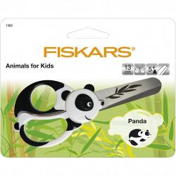 FISKARS Kinderschere Panda - für Rechts- und Linkshänder