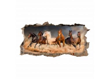 180 wandtattoo pferde loch in der wand. Black Bedroom Furniture Sets. Home Design Ideas