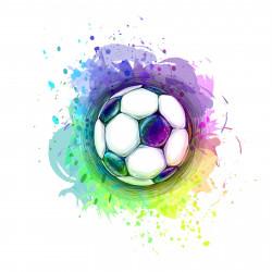 186 Wandtattoo Fussball Soccer in 6 vers. Größen
