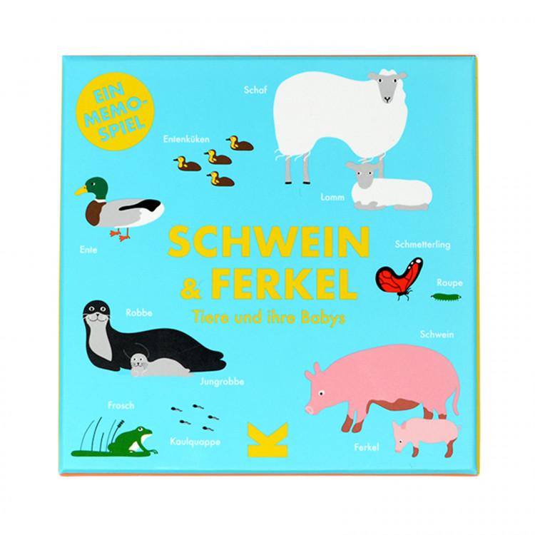 Schwein und Ferkel - Ein Memo-Spiel