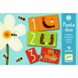 DJECO Puzzle Zahlen ab 3 Jahre