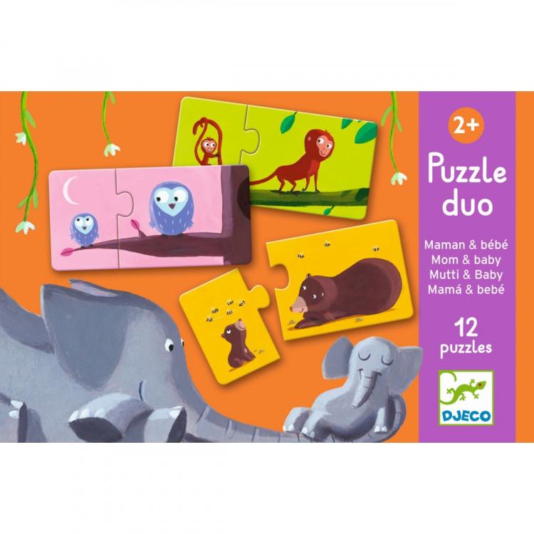 DJECO Puzzle Mami & Kind
