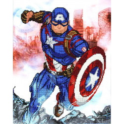 Diamond Dotz Marvel Avengers Captain America