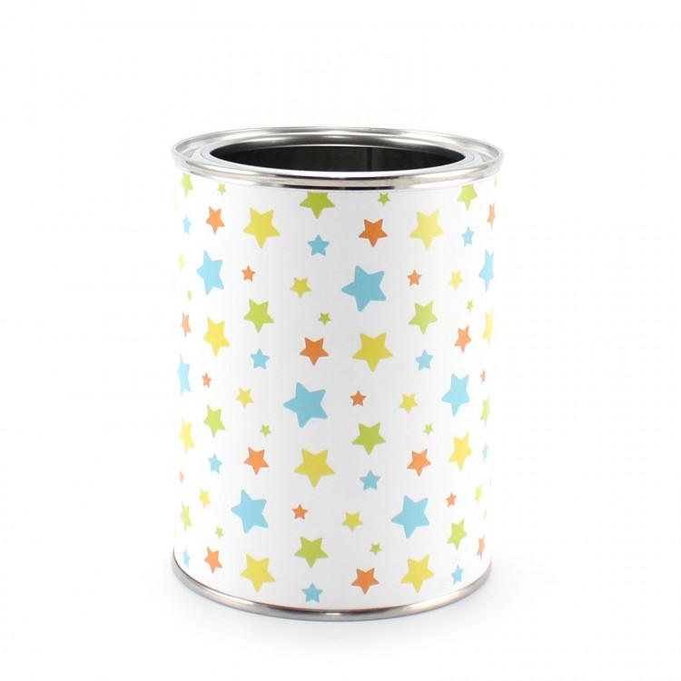 Stiftebecher Sterne bunt - Kinder Stifteköcher Stiftehalter