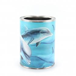 Stiftebecher Delfine - Kinder Stifteköcher Stiftehalter
