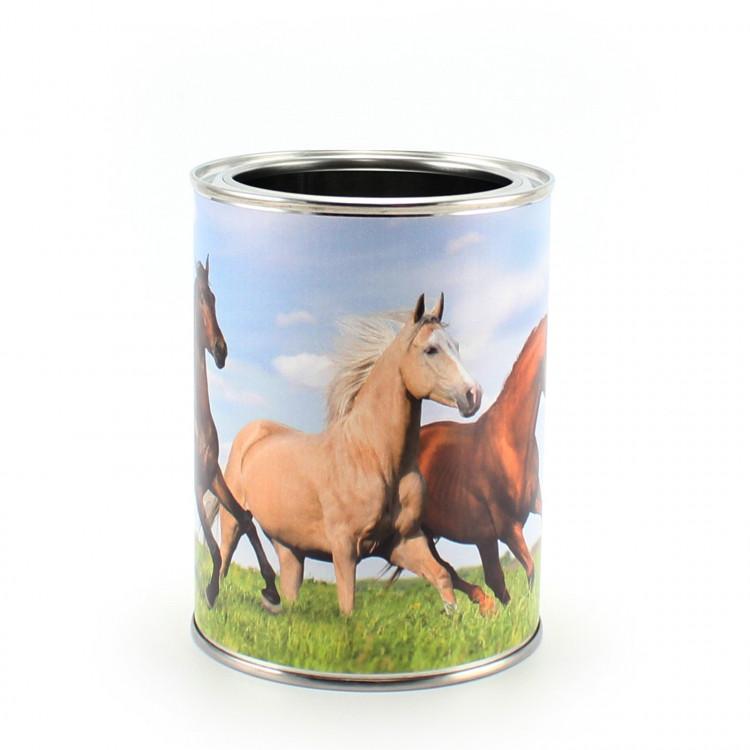 Stiftebecher 3 Pferde - Kinder Stifteköcher Stiftehalter