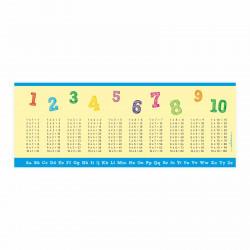 Stiftebecher 1x1 und ABC - Kinder Stifteköcher Stiftehalter