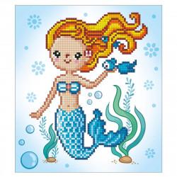 Diamond Dotz Süße Meerjungfrau