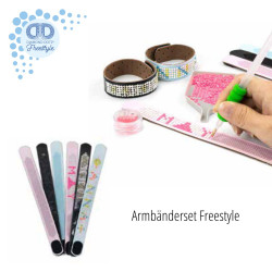 Diamond Dotz 6 Freestyle Armbänder - Freundschaftsbänder DIY