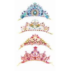 DJECO Mosaik-Diademe: Wie eine Prinzessin Kronen basteln