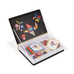 JANOD Magnetbuch Formen Und Muster