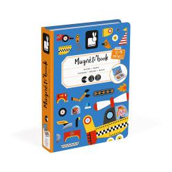 JANOD Magnetbuch Fahrzeuge legen