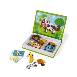 JANOD Magnetbuch Tiere legen