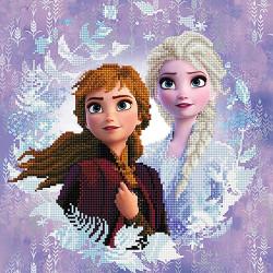 Diamond Dotz Die Eiskönigin Anna und Elsa Frozen