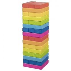 goki Geschicklichkeitsspiel Wackelturm Regenbogen