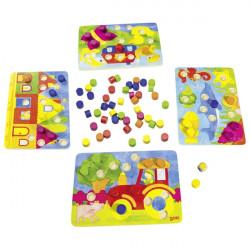 goki Farbwürfelspiel - Farben lernen
