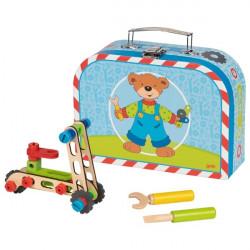 goki Fahrzeug-Baukasten im Koffer