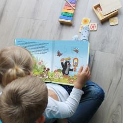 TRÖTSCH Der kleine Maulwurf Puzzlebuch 4 Puzzle mit je 9 Teilen