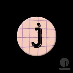 Pickmotion S-Magnet Buchstabe J